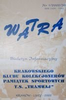 """Watra"" - Bulletin of Sport Collectors Association TS Tramwaj nr 1(38)/2002"