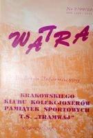 """Watra"" - Bulletin of Sport Collectors Association TS Tramwaj nr 2(26)/1999"
