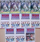 Wigan Athletic official programmes 1990-1992 (11 items)
