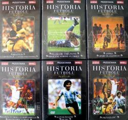 The History of football. Beautiful game DVD film (7 parts)