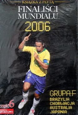 World Cup 2006 finalists (group C) film DVD + book