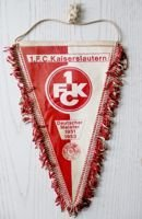 1.FC Kaiserslautern - Germany Champion 1951 1953 old pennant