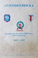 10th anniversary of the Association of Referee Football Section of Opole Silesia 1946-1956