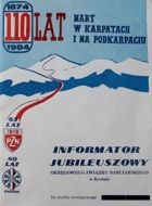 110 Years of Skiing in Carpathia and at Outer Subcarpathia 1874-1984