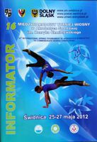 16th Acrobatic gymnastics International Spring Tournament (Swidnica 25-27.05.2012) guide