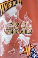 2000-01 Golden State Warriors Media Guide