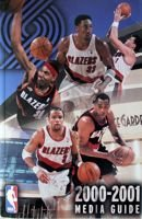 2000-01 Portland Trail Blazers Media Guide