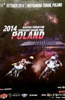 2014 Poland FIM Speedway Grand Prix official programme (Torun, 11.10.2014)