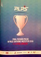2016 Polish Men's Volleyball Cup Final (Wroclaw, 05-07.02) official programme