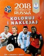 2018 FIFA World Cup Russia. Coloring and stickers book (official product)