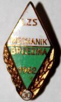 30 years LZS Mechanik Brzezina (enamel)
