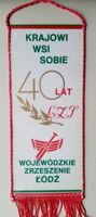 40 years of District of Lodz Country Sport Association pennant