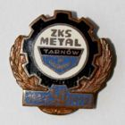 50 years ZKS Metal Tarnow bronze garland (enamel)