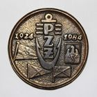 60 years of Polish Yachting Association 1924-1984 jubilee medal (brass)