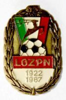 65th Anniversary of Lublin Football Association (lacquer)