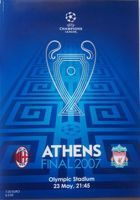 AC Milan - Liverpool FC UEFA Champions League Final official programme (23.05.2007)