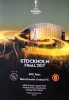 AFC Ajax - Manchester United FC UEFA Europa League final official programme (24.05.2017)