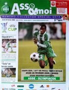 AS Saint-Etienne - Olympiacos FC UEFA Cup official match programme (26.02.2009)