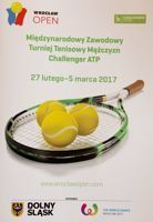 ATP Challenger Wroclaw Open official programme (27.02-05.03.2017)