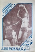 AZS Poznan basketball club 1984/85