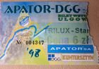 Apator DGG Torun - Start Trilux Gniezno speedway I League match ticket (03.05.1998)