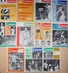 Boks Monthly Magazine - 1972 Year (11 issues)