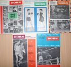 Boks Monthly Magazine - 1973-1974 years (5 issues)