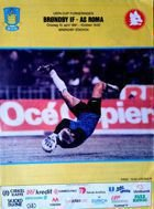 Brondby IF - AS Roma UEFA Cup official match programme (10.04.1991)