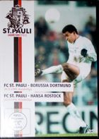 Bundesliga matches FC St. Pauli vs Borussia Dortmund (30.11.1989) and Hansa Rostock (24.03.1996) DVD film