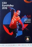CEV EuroVolley official programme (13-23.09.2019)