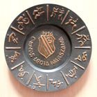 CWKS Legia Warsaw old plate (copper)