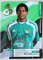 Carlo Costly (GKS Belchatow, 2008/2009 season) postcard