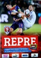 Czech Republic - Iceland UEFA Euro 2016 qualification match programme (16.11.2014)