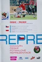 Czech Republic - Poland World Cup qualyfing match programme (10.10.2009)