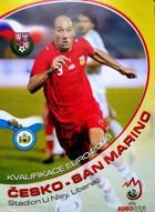 Czech Republic - San Marino Euro 2008 qualifying official match programme  (07.10.2006)