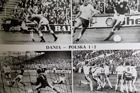 Denmark - Poland 1:2 World Cup 1978 qualifying match postcard