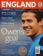 England - Austria World Cup qualification official programm (08.10.2005)