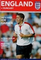 England - Hungary U17 friendly match (17.11.2004) programme