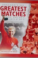 England's six greatest matches of the 60's, 70's and 80's DVD film