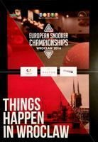 European Snooker Championships Wroclaw 2016 official programme (15-20.02.2016)