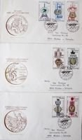 FDC Envelopes Olympic Games 1900-1964 (Czechoslovakia)
