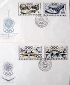 FDC Envelopes X Winter Olympic Games Grenoble 1968 (Czechoslovakia)