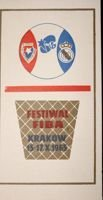 FIBA Festival invitation ticket (Cracow, 15-17.10.1965)