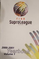 FIBA SuproLeague Yearbook 2000-2001. Volume 1
