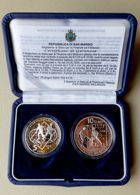 FIFA World Cup 2006 silver coins (San Marino) with certificate