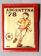 FIFA World Cup Argentina 1978 (plastic with sticker)