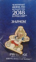 FIFA World Cup Russia 2018 Zabivaka (Official Licensed Product)