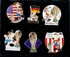 FIFA World Cup USA'94. Set of 6 badges (official licensed product)