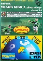 Fan's Guide of Lublin district football. Spring round 2004