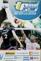Final Four Challenge Cup official programme (Rzeszow, 22-23.03.2008)
